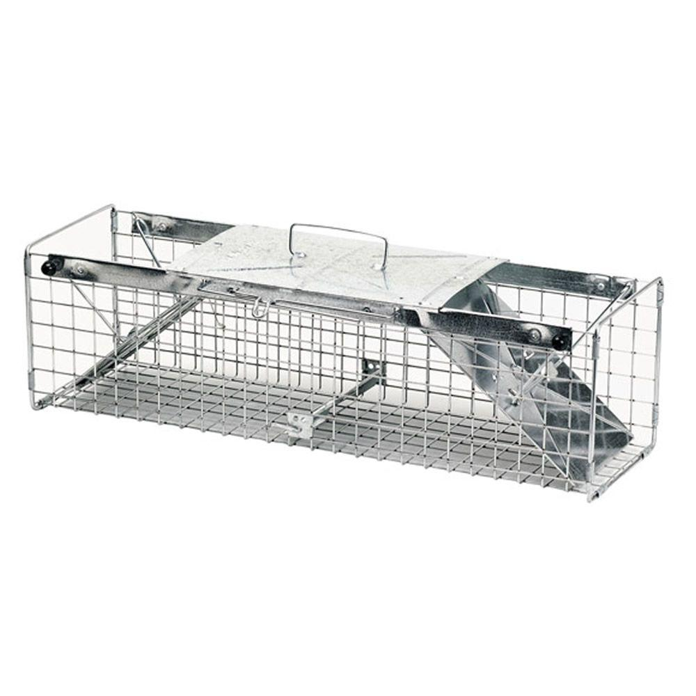 Havahart Medium 2 Door Animal Cage Trap 1030 The Home Depot
