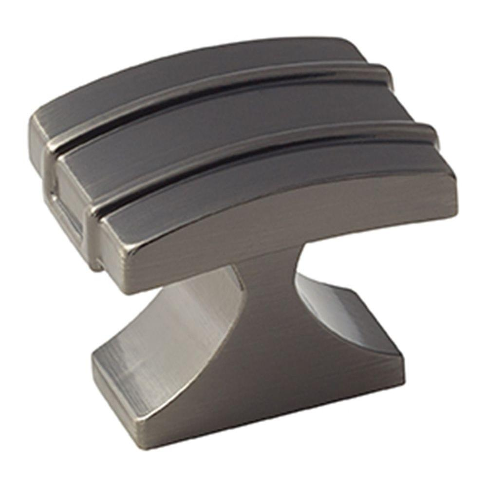Davenport 1-1/4 in. (32 mm) Gunmetal Cabinet Knob