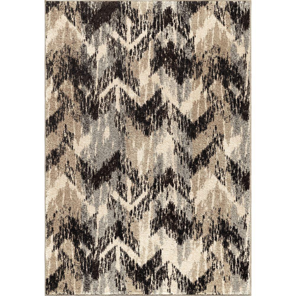 Orian Rugs Twisted Sisters Gray 7 Ft 10 In X 10 Ft 10