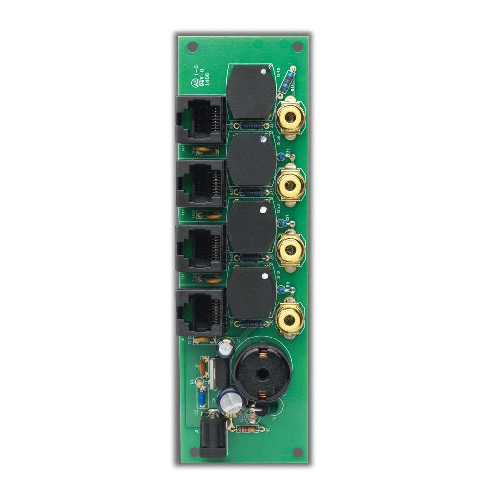 Leviton Cat5E Structured Media Security Camera Network Module Hub