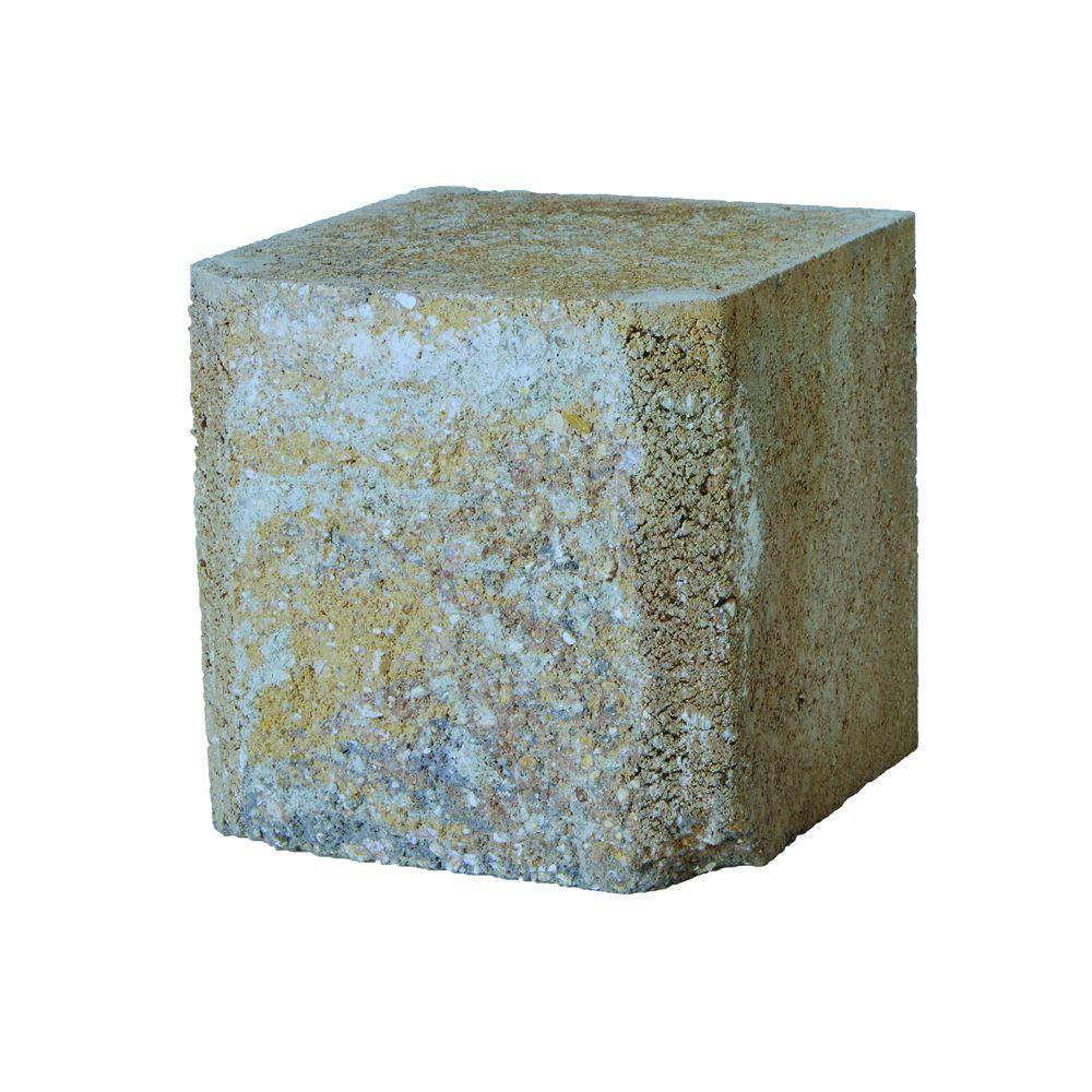SplitRock DoubleMedium 7 in. x 7 in. x 7 in. Yukon Concrete Garden Wall Block (72 Pcs. / 24.5 Face ft. / Pallet)