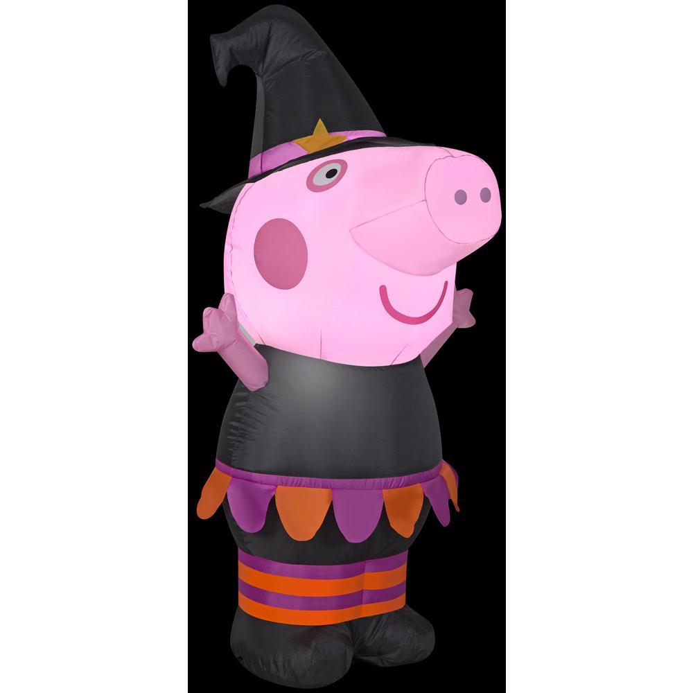 3.5 ft. Airblown-Halloween Inflatable Peppa Pig-SM-Peppa Pig