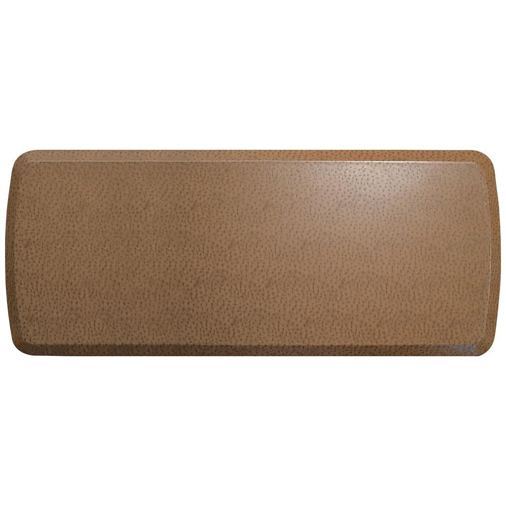 GelPro Elite Quill Toast 20 in. x 48 in. Comfort Kitchen Mat