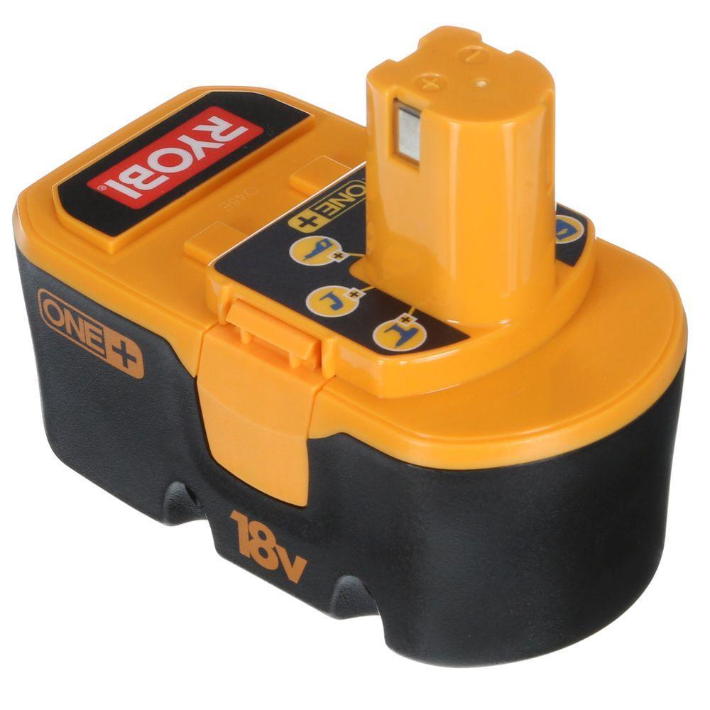 ryobi 18 volt one nicd battery pack 1 5ah p100 the home depot rh homedepot com Ryobi String Trimmer Parts Ryobi Manual Rjc180