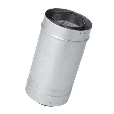 6 in. Vent Length 3 in. x 5 in. Stainless Steel Concentric Vent for Tankless Gas Water Heaters