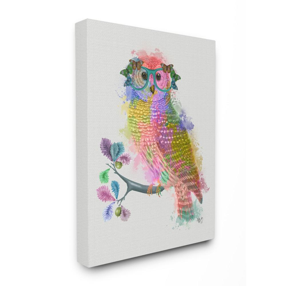 The Stupell Home Decor Collection 30 In X 40 In Rainbow Splash