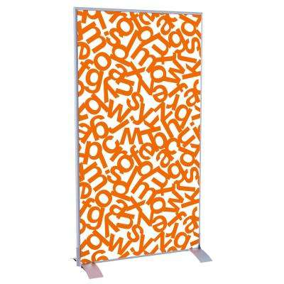 Paperflow easyScreen Orange Alphabet Vertical Divider Screen