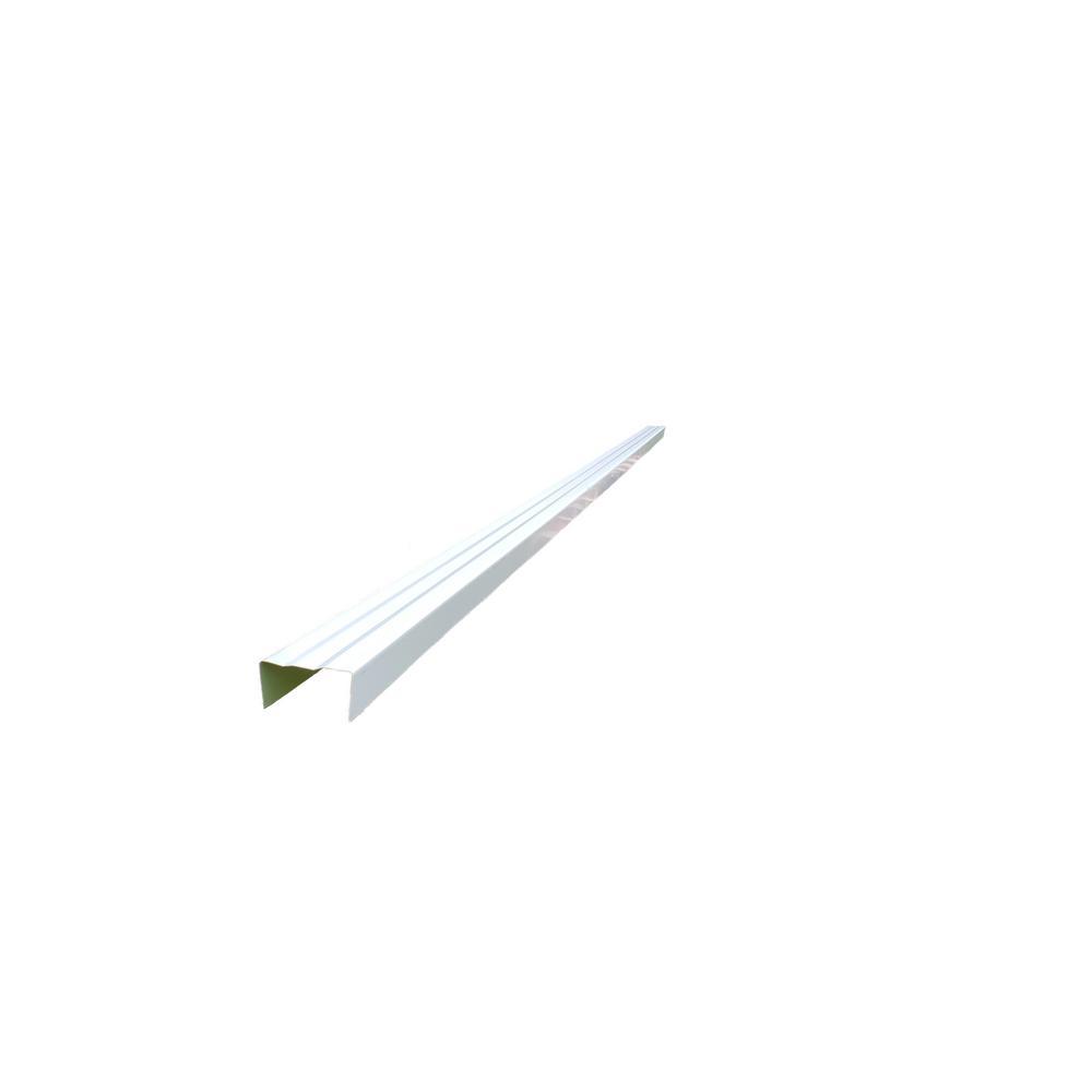 72 in. Aluminum Door Trim Kit 2.5 in. x 2.25 in. x 85 in. Evergreen Siding Moulding (6-Piece)