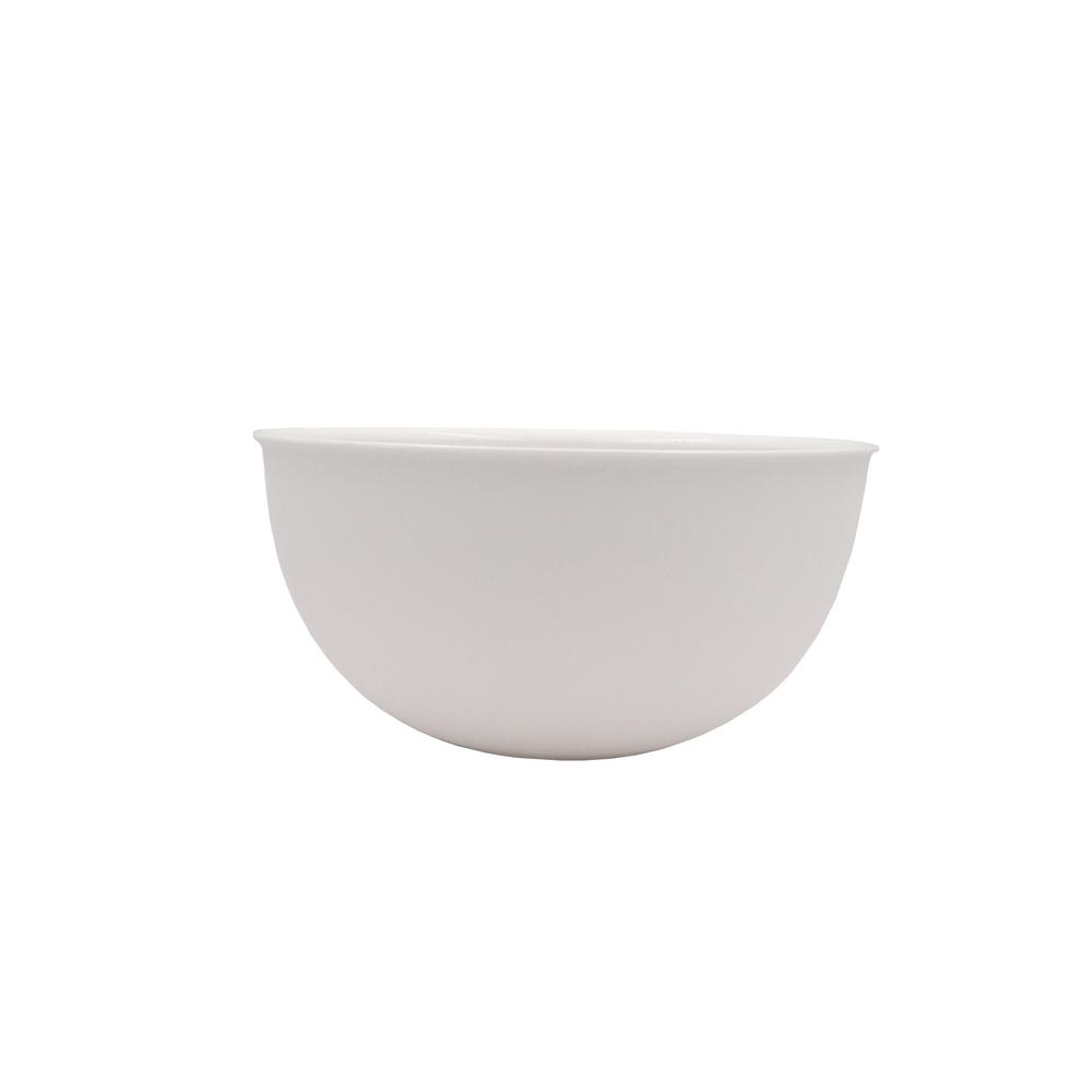 128 oz. White Salad Bowl PLA (2-Pack)
