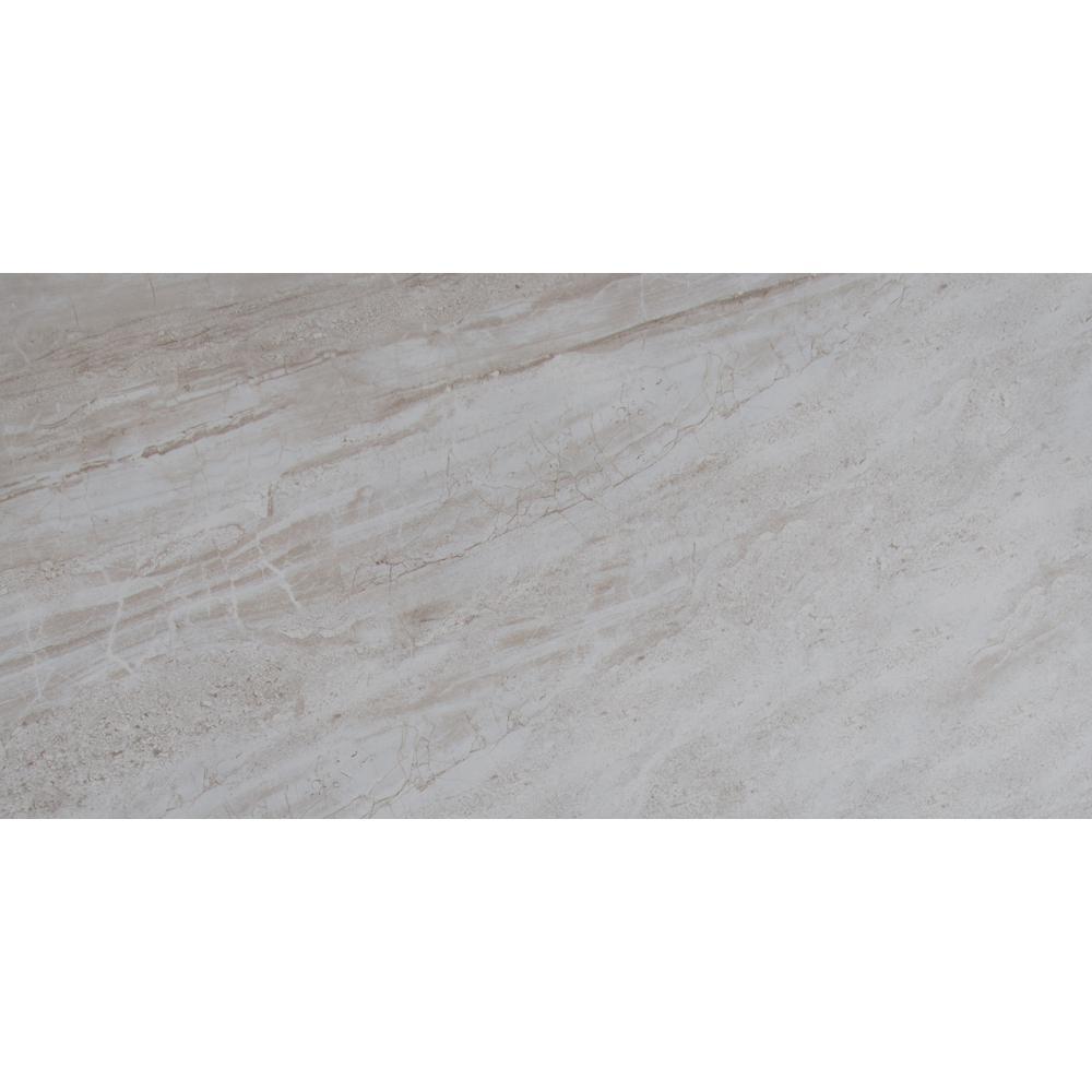 MSI Vigo Gris 12 in. x 24 in. Glazed Ceramic Floor and Wall Tile (16 sq. ft./case)