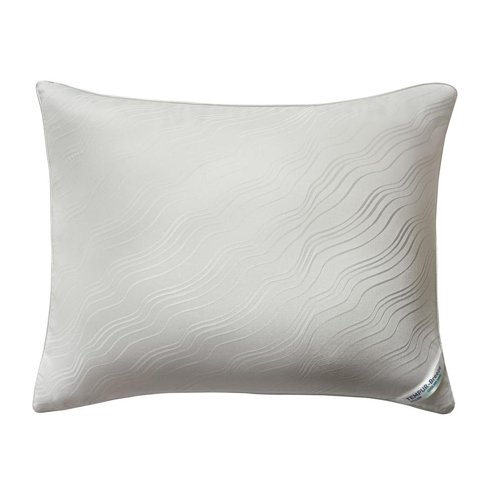 Tempur Pedic Breeze 1.0 Standard Foam Bed Pillow, White