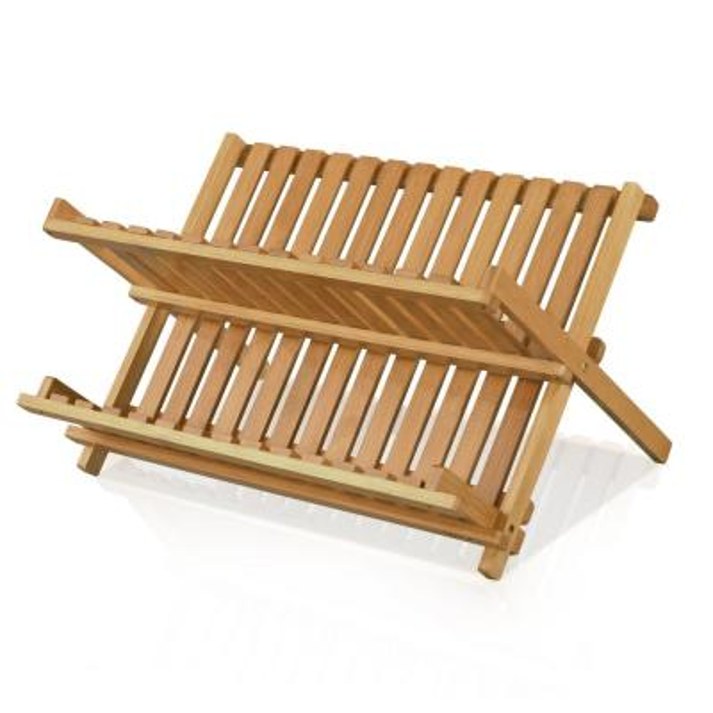 DaPur Bamboo Collapsible Dish Rack
