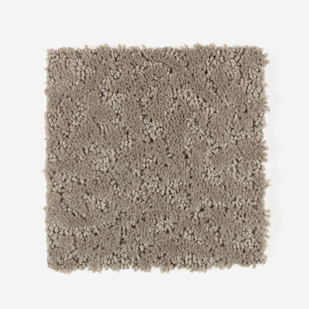 Petproof Perry Color True Taupe Pattern 12 Ft Carpet