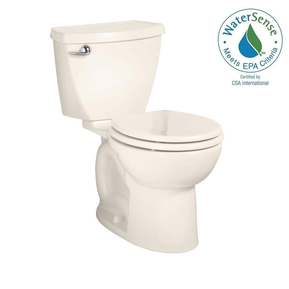 Cadet 3 Powerwash 2-piece 1.28 GPF Round Toilet in Linen