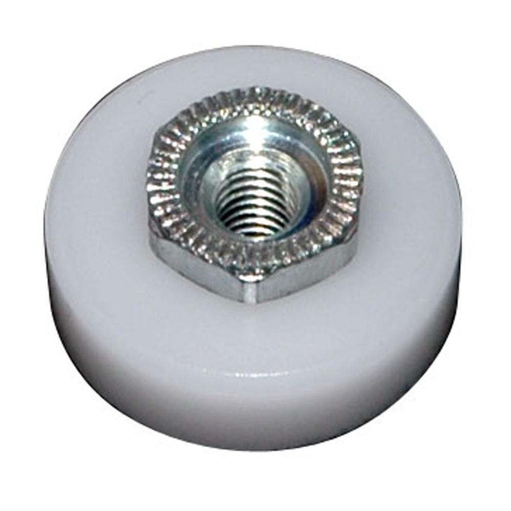3/4 in. Flat Shower Door Wheel (2-Pack)