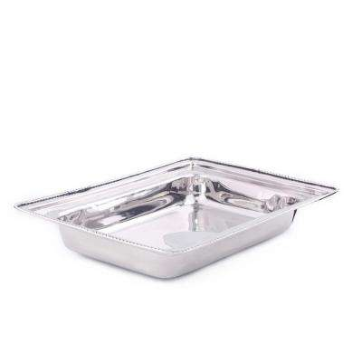 8 qt. Rectangular Stainless Steel Food Pan