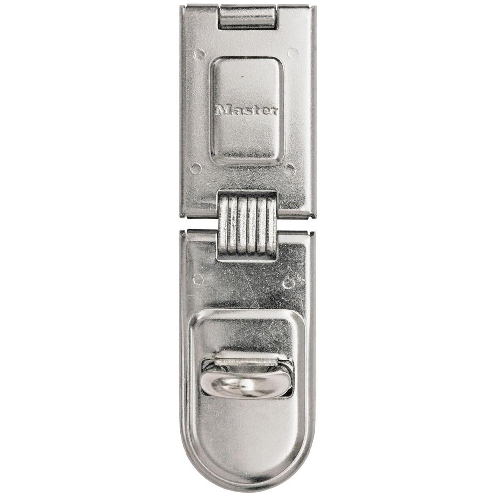 Master Lock 6-1/4 in. Single Hinge Hasp Lock