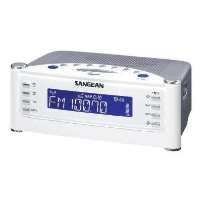 FM/AM/Aux-in Tuning Radio Controlled Alarm Clock