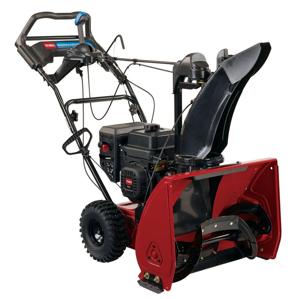 TORO Toro SnowMaster 724 QXE 24 in. 212cc Single-Stage Gas Snow Blower