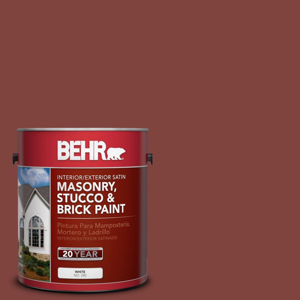 1 gal. #MS-06 Matador Satin Elastomeric Masonry, Stucco and Brick
