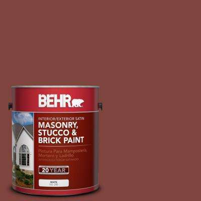 1 gal. #MS-06 Matador Satin Elastomeric Masonry, Stucco and Brick Interior/Exterior Paint