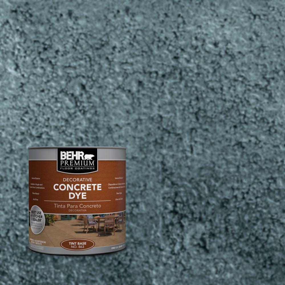 1 qt. #CD-827 Late Sky Concrete Dye
