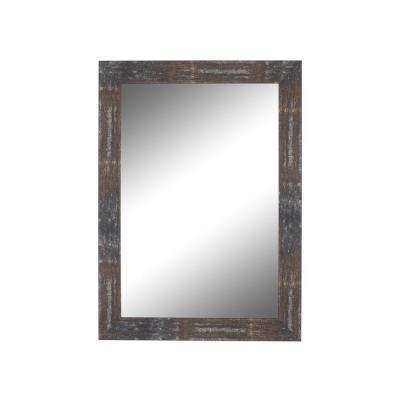 Large Rectangle Copper Casual Mirror (53.5 in. H x 41.5 in. W)