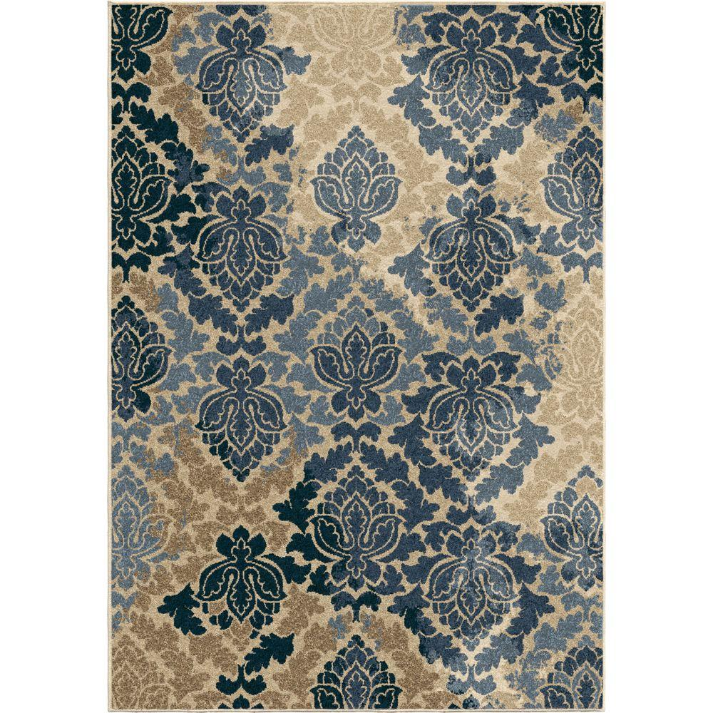 This Review Is From Victorian Damask Multi Fl 8 Ft X 11 Indoor Outdoor Area Rug