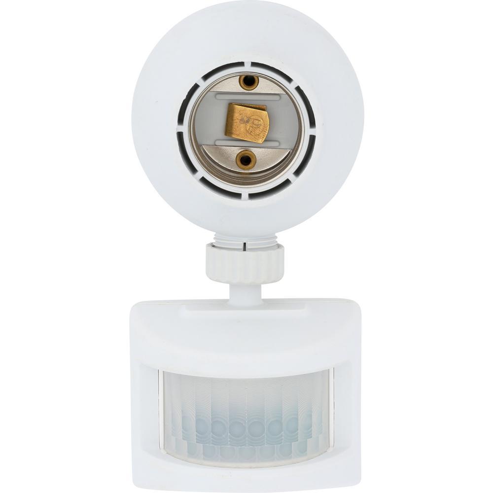 Outdoor Motion-Sensing Light Control, White