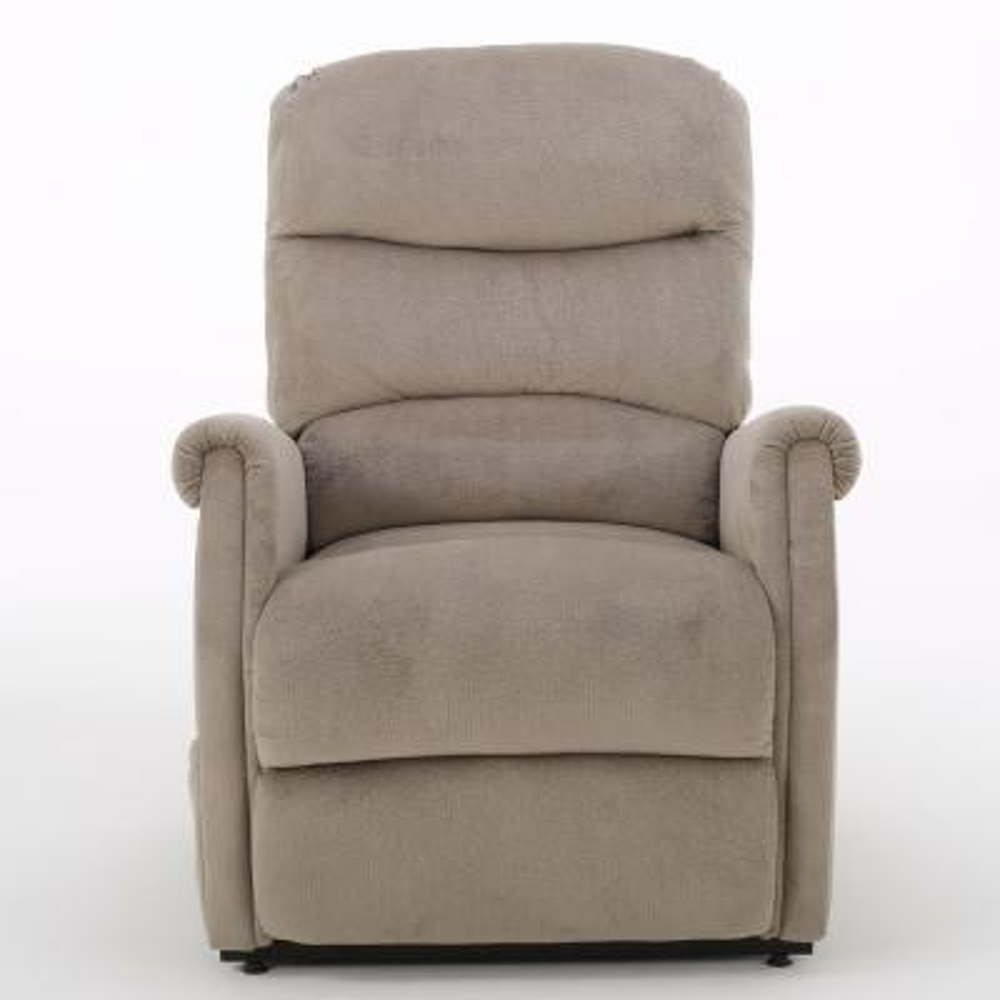 Halea Latte Fabric Lift Up Chair