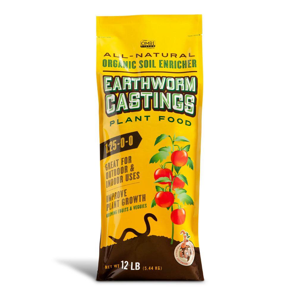 12 lbs. Bag Earthworm Castings