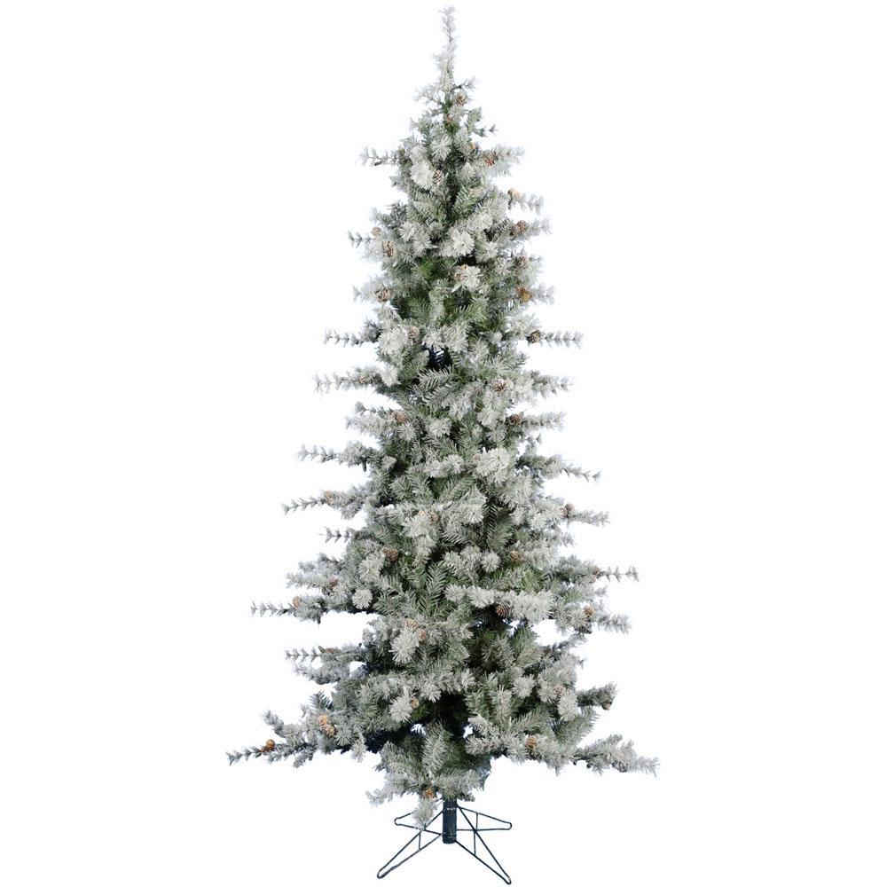 7.5 ft. Buffalo Fir Slim Artificial Christmas Tree
