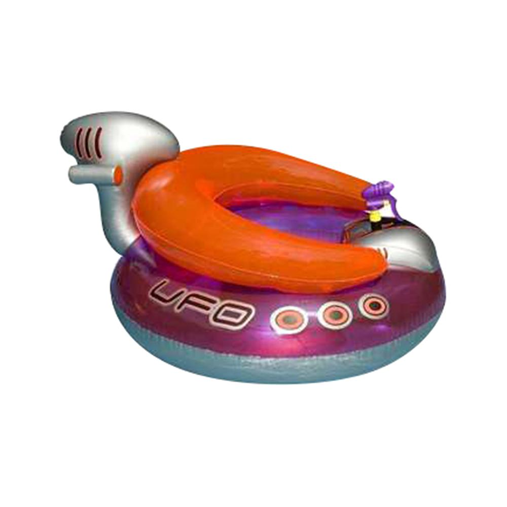 Swimline Inflatable Ufo Lounge Chair Swimming Pool Float With