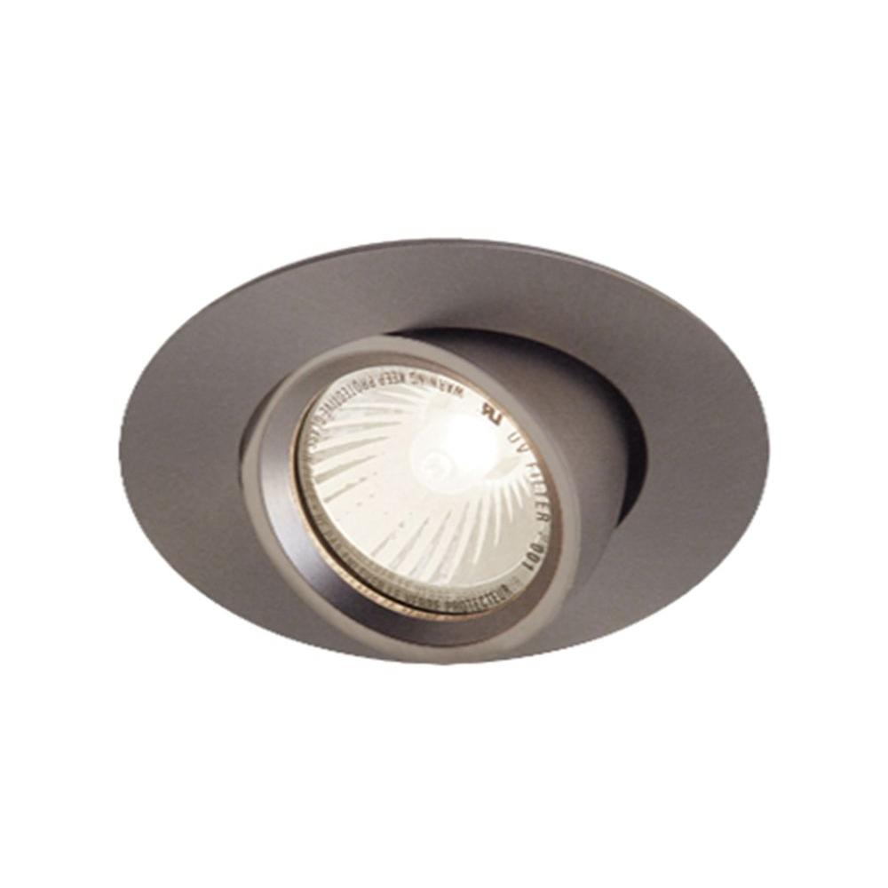 BAZZ 700 Series 4 in. Halogen Low-Voltage Recessed Brushed Chrome Light Fixture Kit-DISCONTINUED
