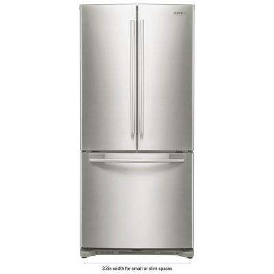 french door refrigerator in stainless steel and - Non Stainless Steel Appliances