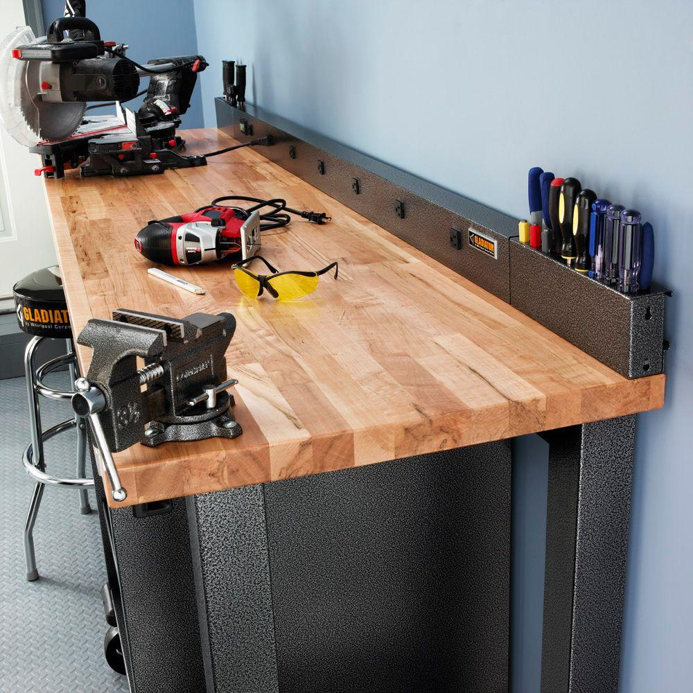 Astonishing Gladiator 6 Ft 9 Outlet Workbench Power Strip With Tool Caddy Extensions In Hammered Granite Alphanode Cool Chair Designs And Ideas Alphanodeonline