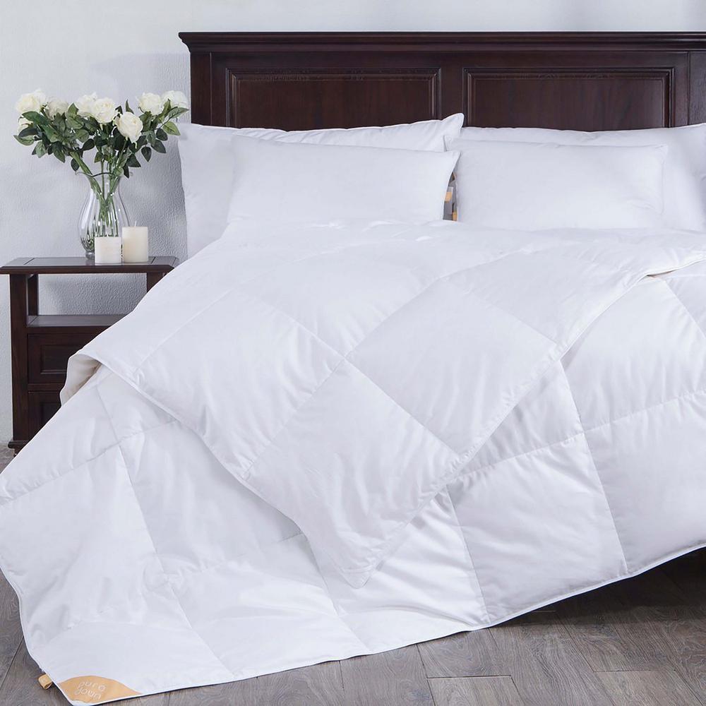 Year Round Warmth White Full/Queen Down Comforter