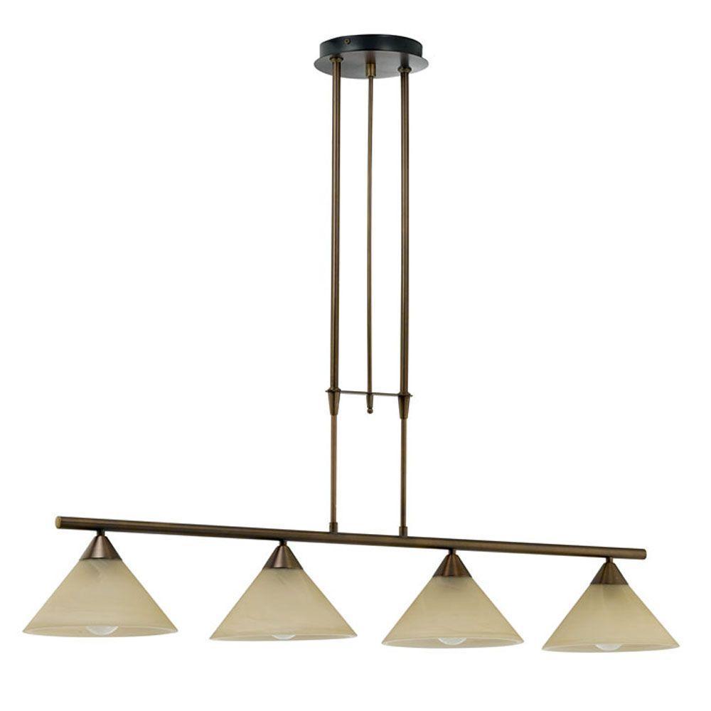 Madai 4-Light Bronze Hanging Island Light