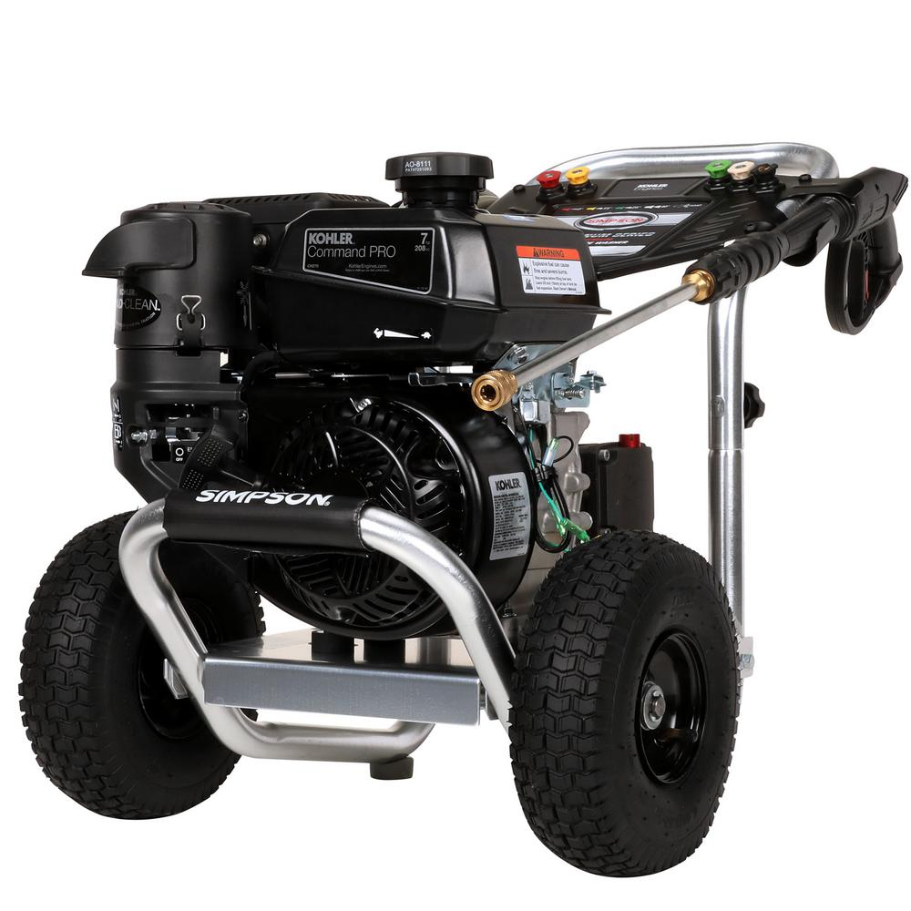 3600 PSI at 2.5 GPM Cold Water Gas Pressure Washer Powered by KOHLER