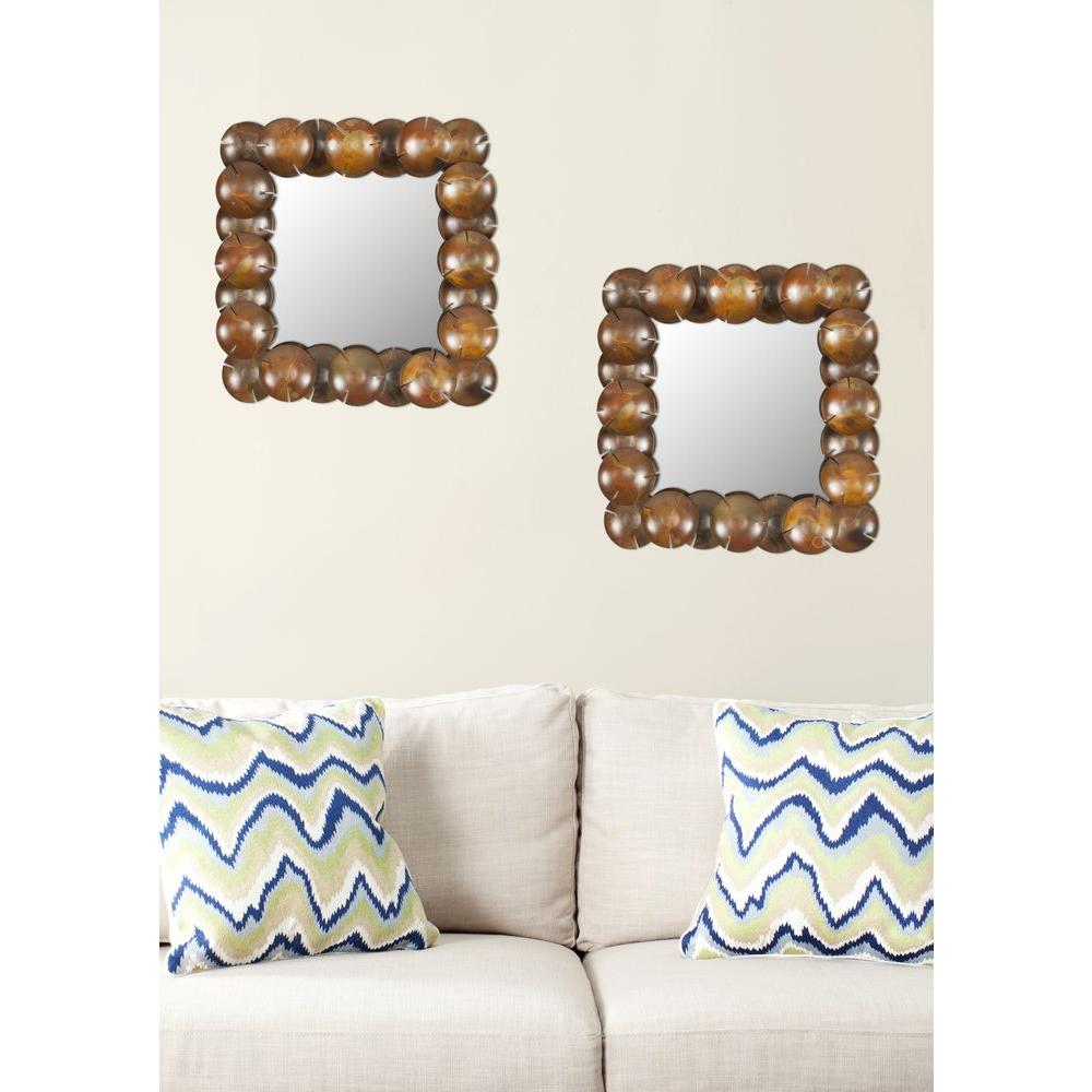 Gold metallic - Mirrors - Wall Decor - The Home Depot