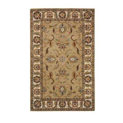 Aristocrat Beige 6 ft. x 9 ft. Area Rug