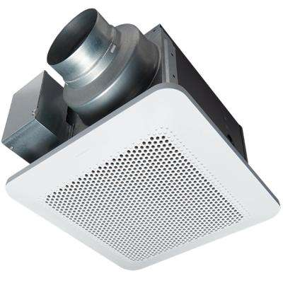 WhisperChoice Pick-A-Flow 80 or 110 CFM Quiet Exhaust Fan with Flex-Z Fast Bracket and 4 or 6 in. Duct Adapter