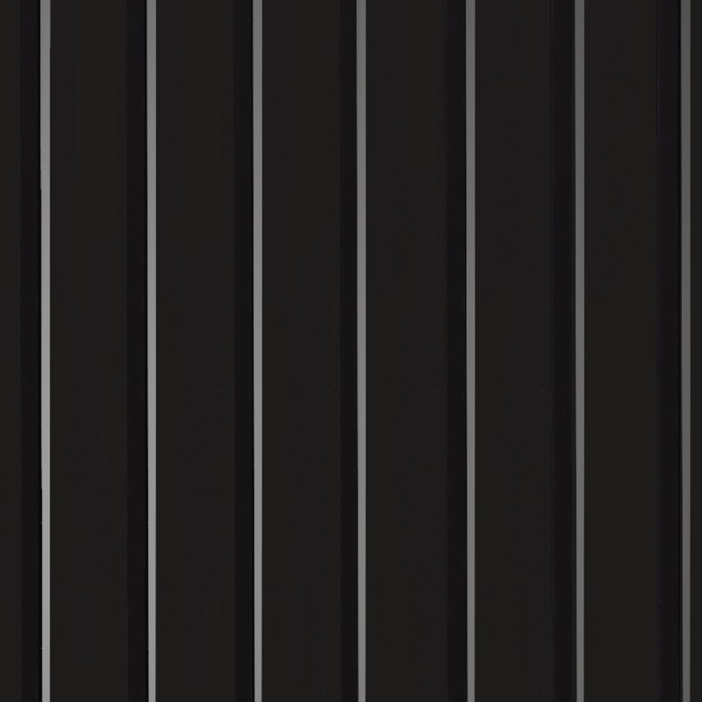 G Floor Rib 10 Ft X 24 Ft Midnight Black Vinyl Garage