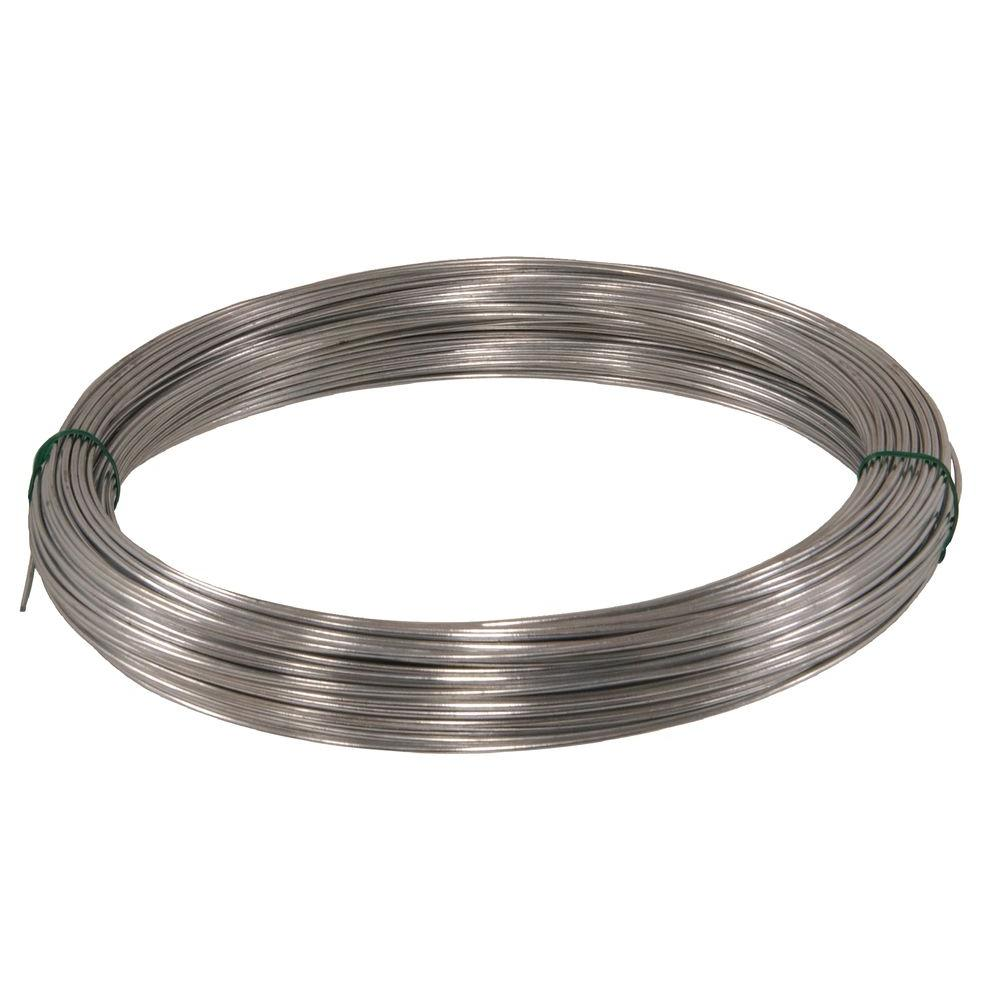 Hillman 100 ft. 12-Gauge Galvanized Wire