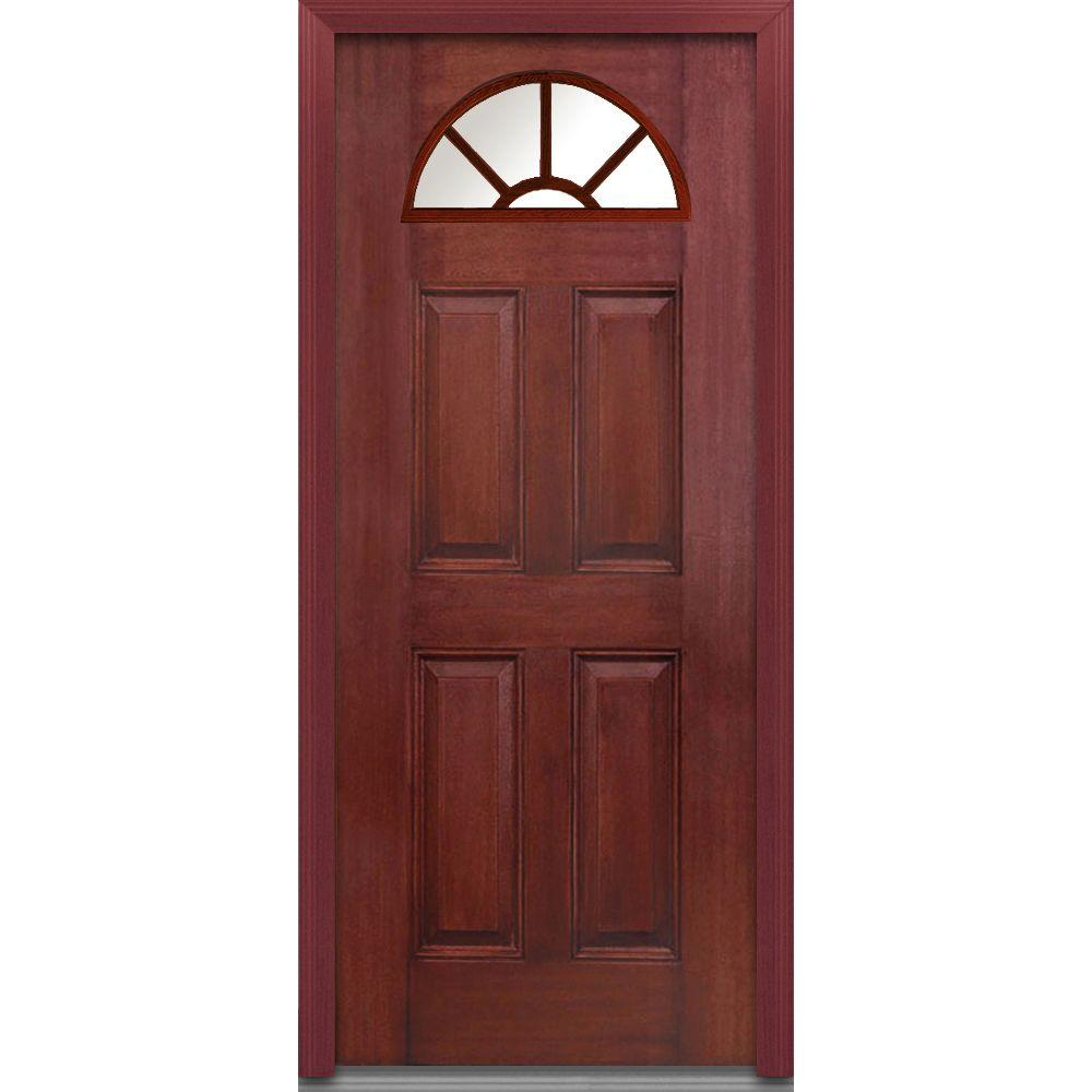 MMI Door 32 In. X 80 In. Right Hand Inswing 1/4