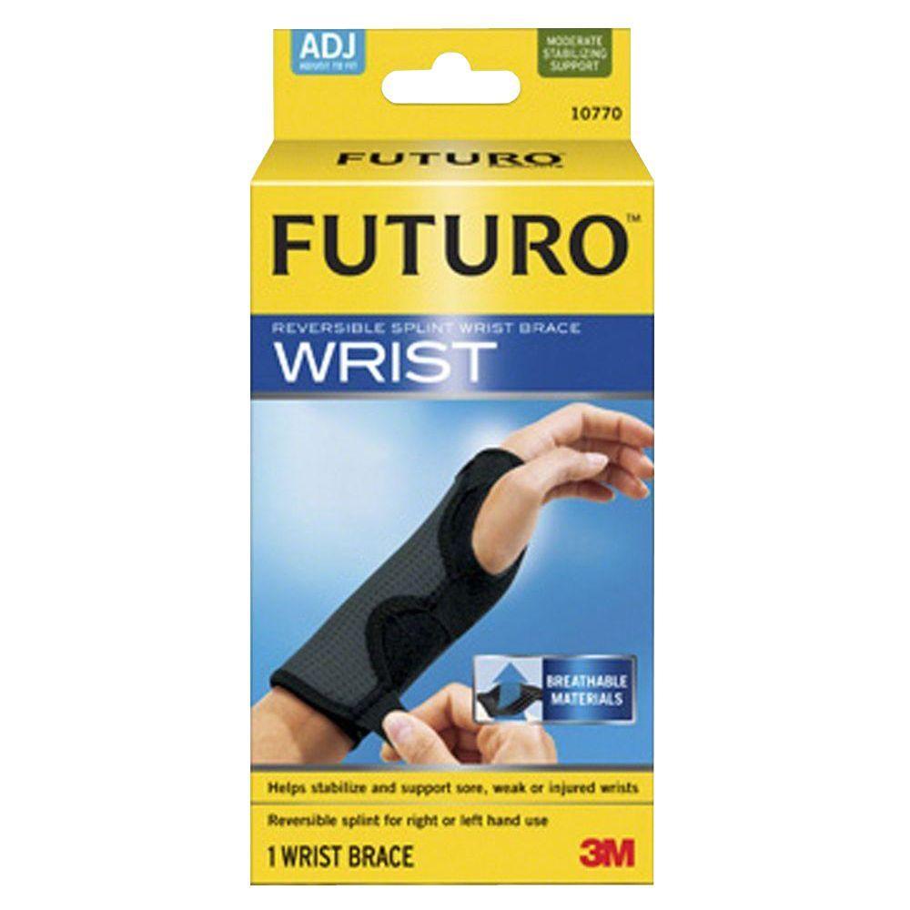 Adjustable Reversible Splint Wrist Brace