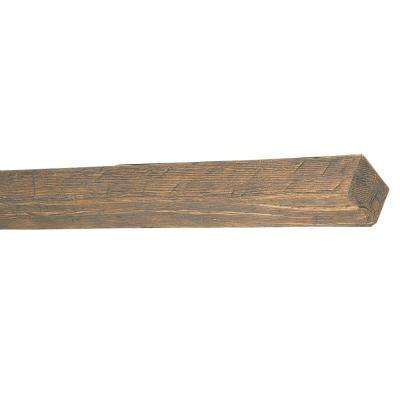 5-1/2 in. x 3-3/4 in. x 14 ft. 9 in. Faux Wood Beam