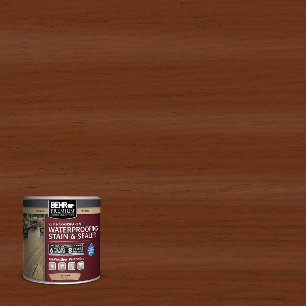 8 oz. #ST-130 California Rustic Semi-Transparent Waterproofing Stain and Sealer