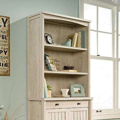 Costa Chalked Chestnut Library Hutch