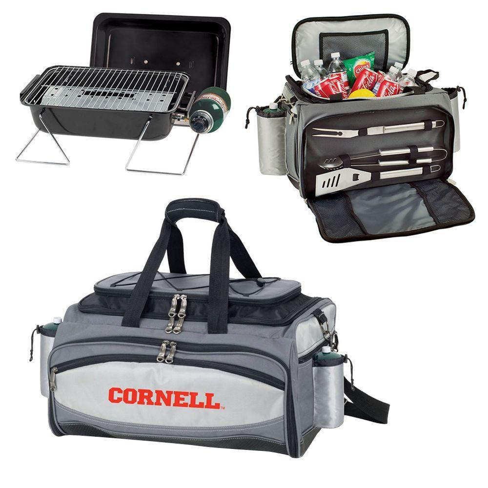 Cornell Big Red - Vulcan Portable Propane Grill and Cooler Tote